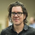 indoor headshot of Jay Varner, Lead Software Engineer for Readux
